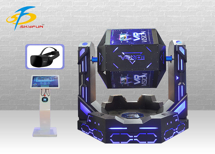 Strong Cabin 9D VR Cinema + Virtual Reality Simulator For 2 Seats 1080 Degree Rotation